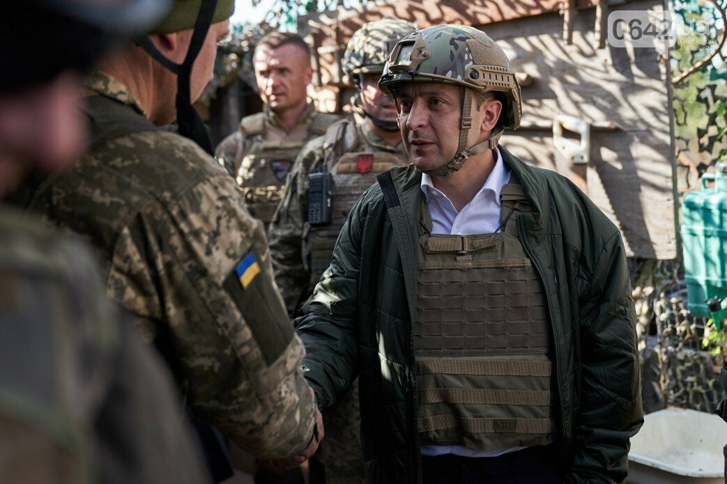 Зеленский посетил зону ООС на Донбассе, - ФОТО, фото-3