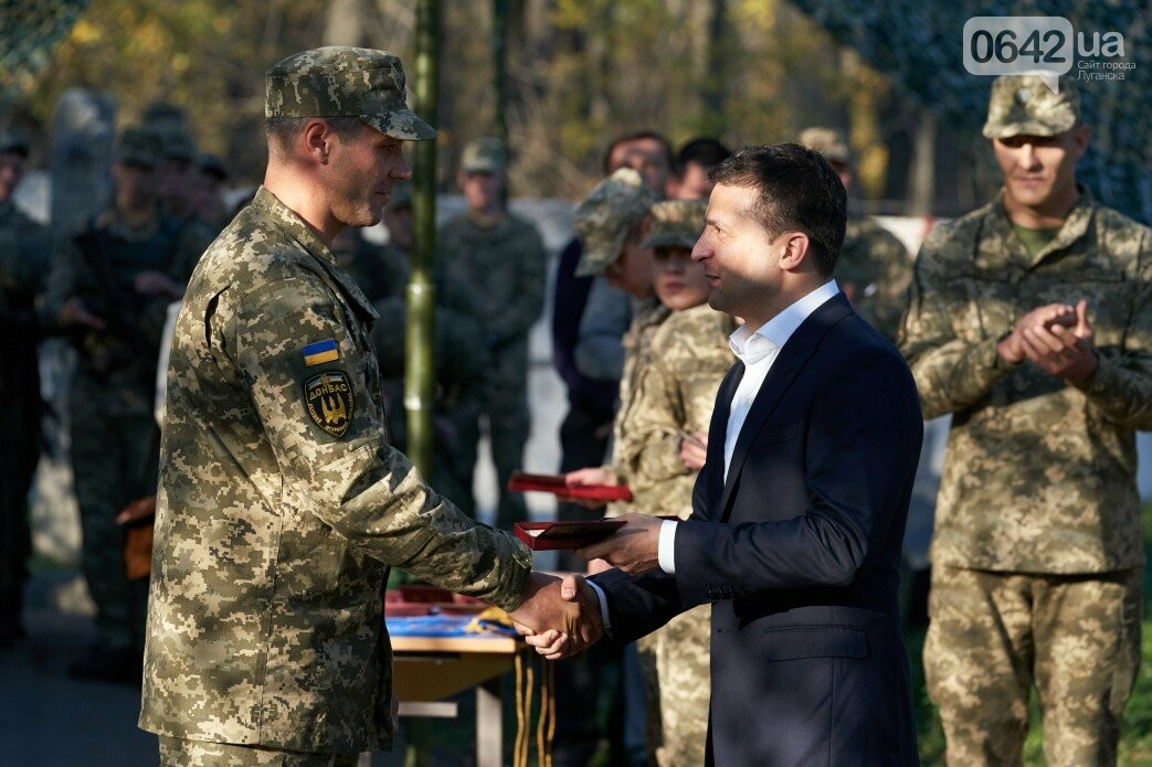 Зеленский посетил зону ООС на Донбассе, - ФОТО, фото-1