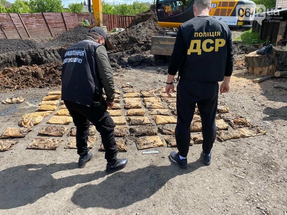 "Более 200 килограммов взрывчатки обнаружено в доме боевика ""ЛНР"" в Лисичанске, - ФОТО, фото-1"