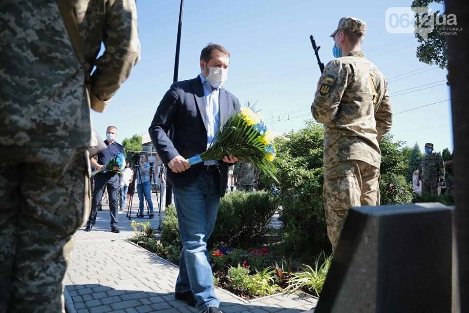 На Луганщине почтили память освободителей Северодонецка, - ФОТО, фото-1