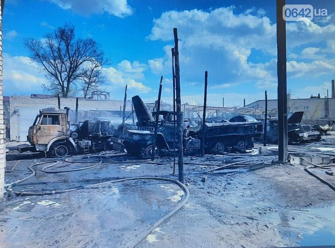 Горели четыре бензовоза: Известны подробности пожара в военной части на Луганщине, - ФОТО, фото-3