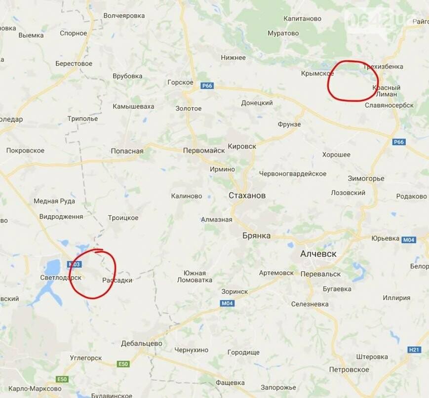 Новые подробности успешного наступления сил АТО на Донбассе: появилась карта продвижения ВСУ