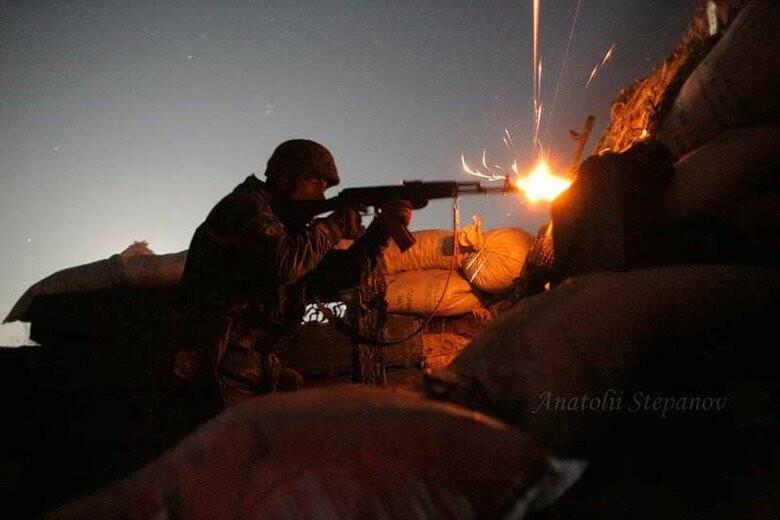 За сутки российско-оккупационные войска 11 раз нарушили перемирие: пот