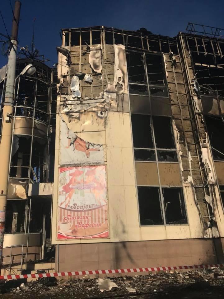 В Антраците сгорел торговый центр «Маяк» (ФОТО), фото-2