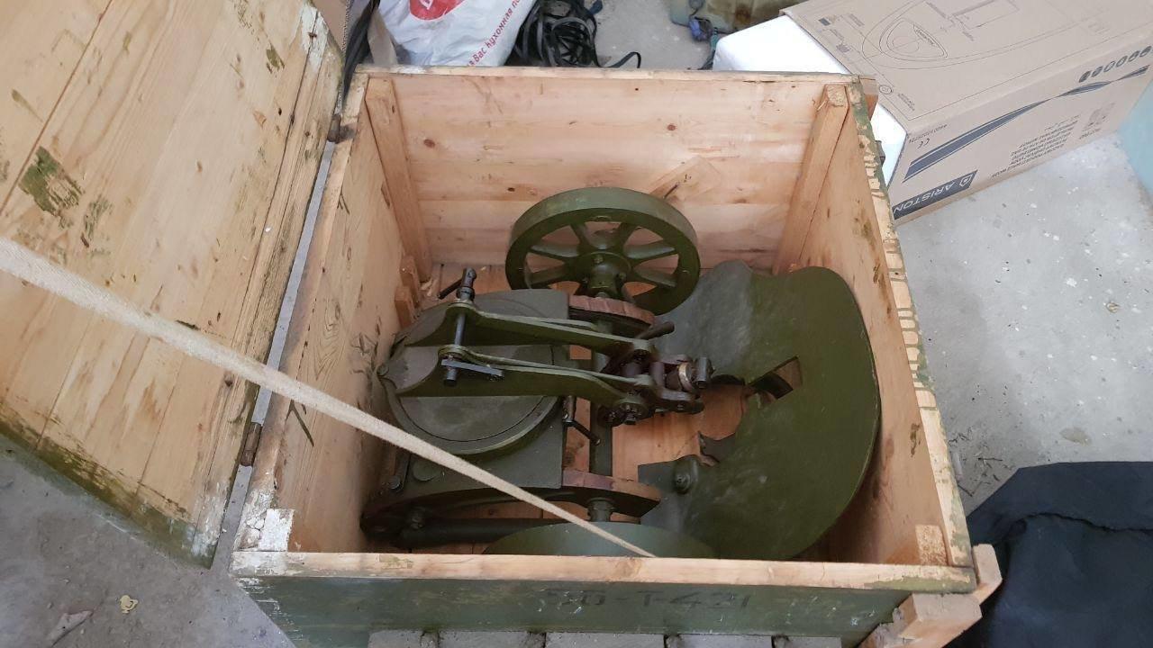 У бандитской группировки в Донецкой области изъяли пулемет Максима в заводской упаковке, фото-1