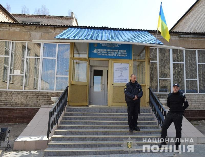 В Донецкой области полиция взяла все избирательные участки под круглосуточную охрану