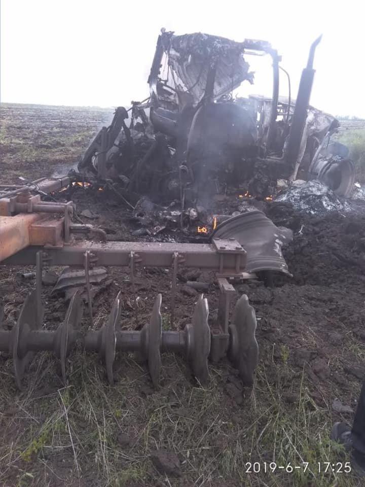 В Луганской области взорвался трактор: ранены два человека, - ФОТО, фото-4