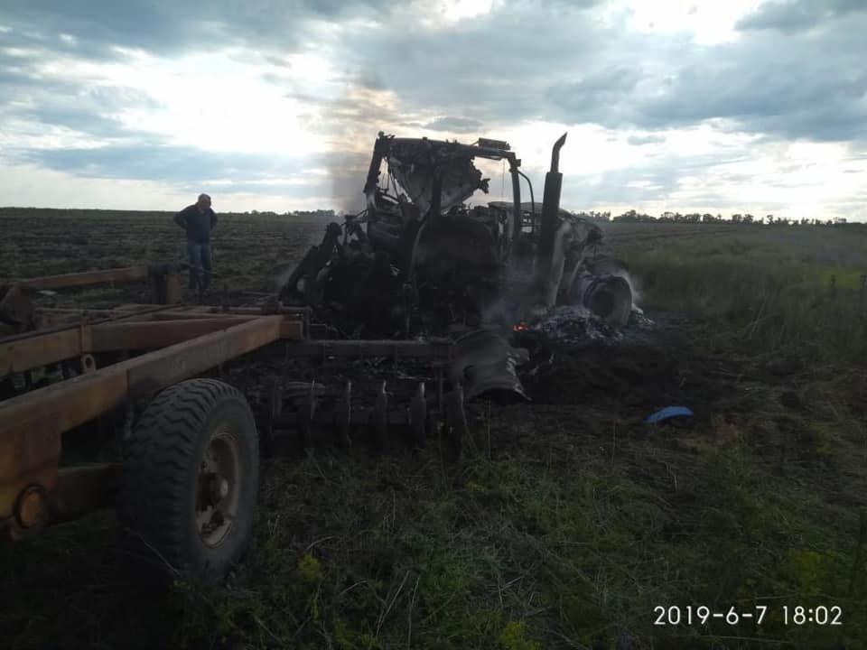 В Луганской области взорвался трактор: ранены два человека, - ФОТО, фото-3