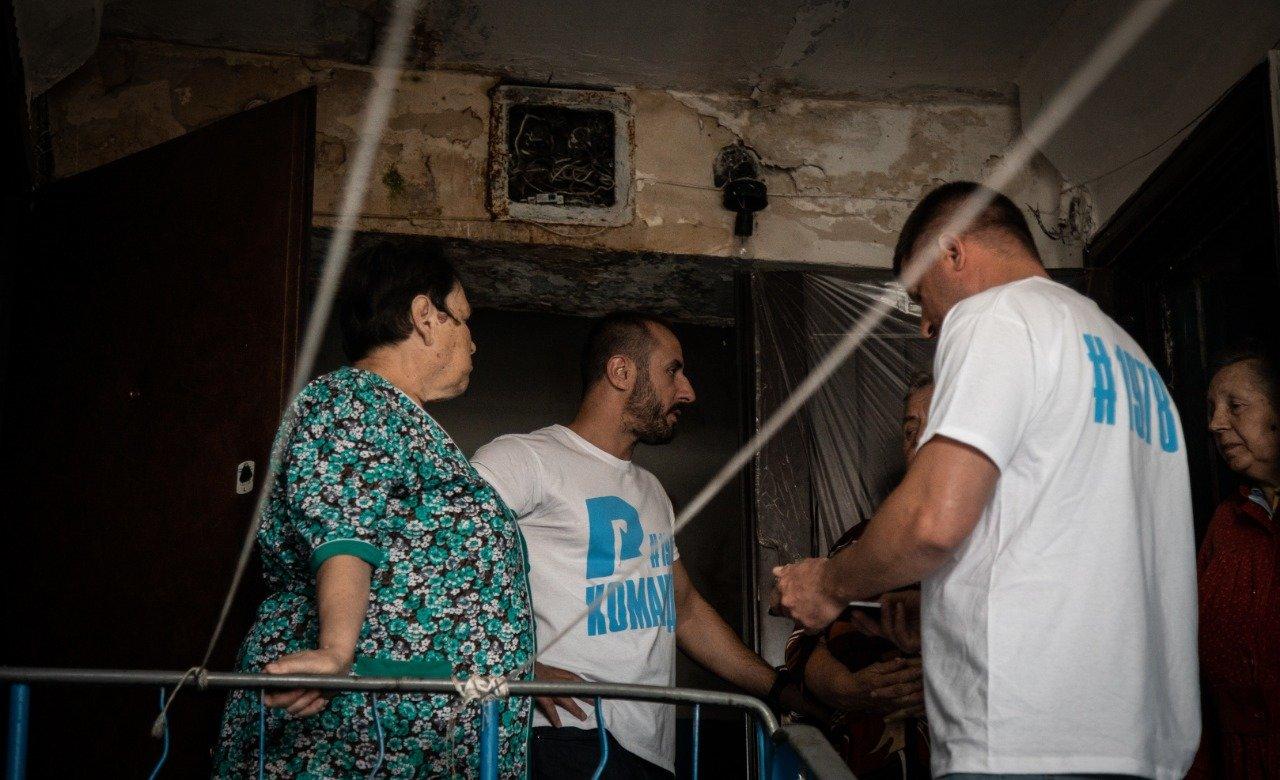 В Новодружеске команда депутата Сергея Рыбалка начала ремонт центральных улиц, фото-7