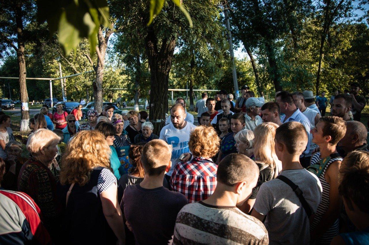 В Новодружеске команда депутата Сергея Рыбалка начала ремонт центральных улиц, фото-2
