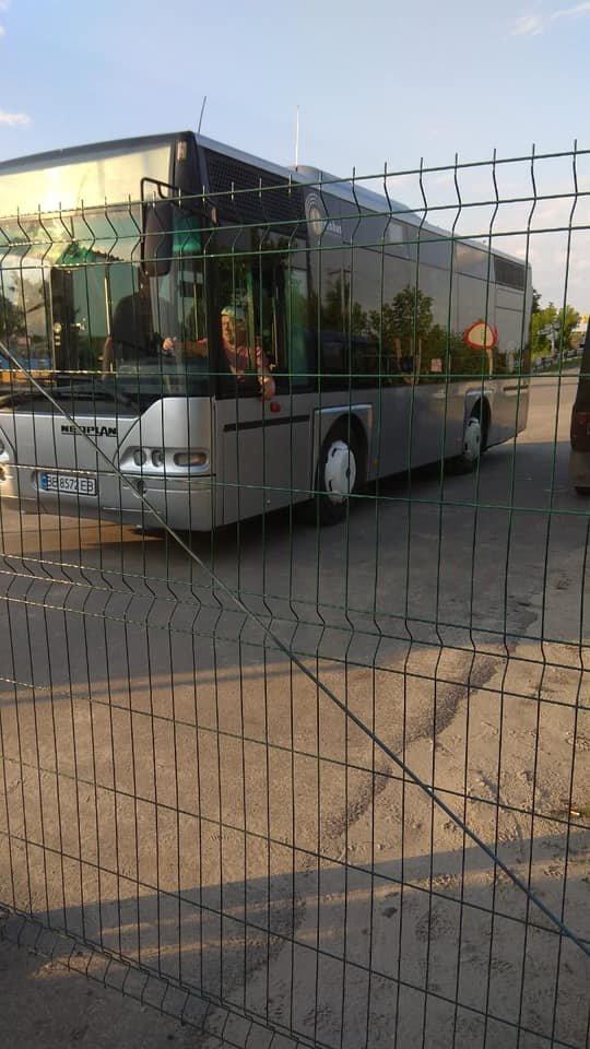 В Станице Луганской запустили рейсовый до моста через Северский Донец, фото-1