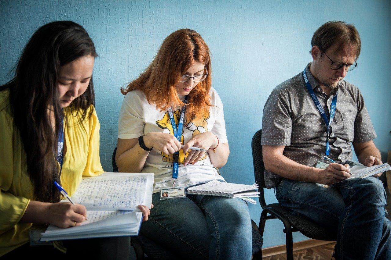 Сергей Рыбалка передал материалы о нарушениях на выборах в 107 округе  наблюдателям от ОБСЕ, фото-1