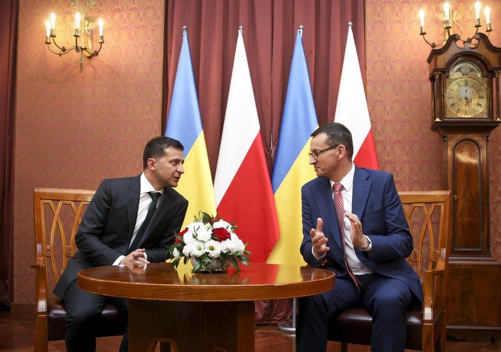 Зеленский пригласил Польшу присоединиться к восстановлению Донбасса, фото-1