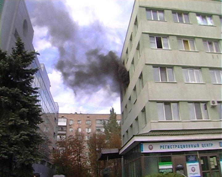 В Луганске горело «министерство юстиции», - ФОТО, фото-2