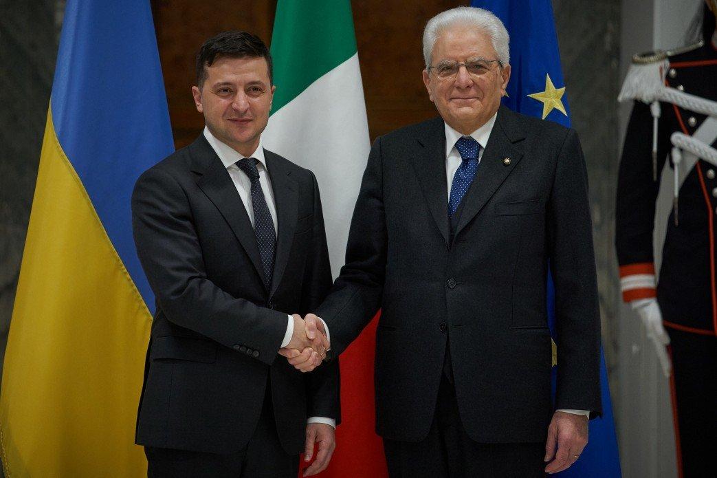 Зеленский обсудил с президентом Италии закрытие незаконных офисов «ДНР» и «ЛНР», фото-1