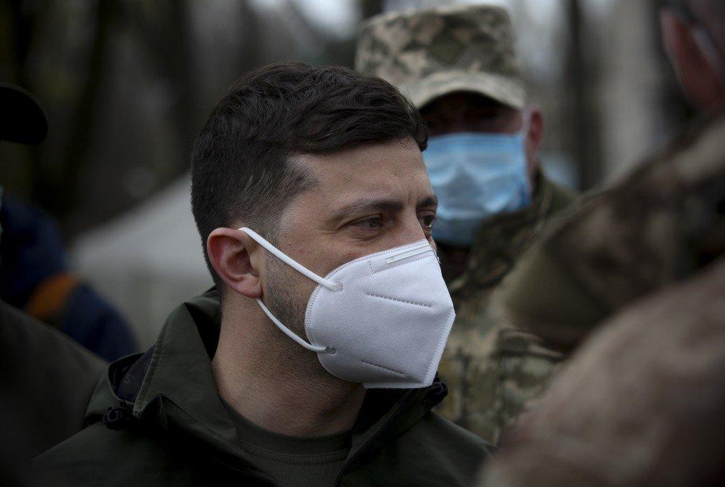 Зеленский посетил участок разведения сил на Донбассе, - ФОТО, фото-1