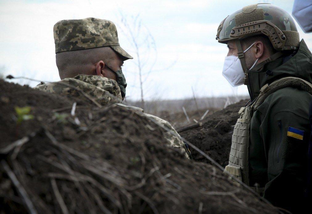 Зеленский посетил участок разведения сил на Донбассе, - ФОТО, фото-3