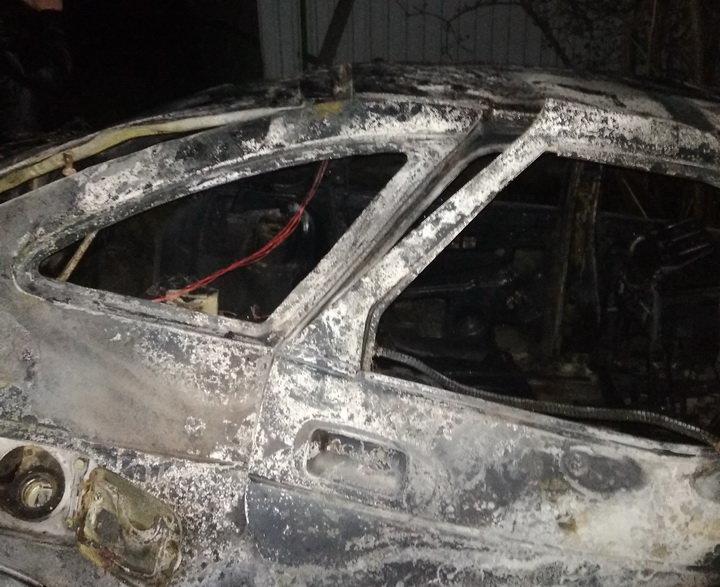 В «ЛНР» пьяный водитель врезался в хозпостройку — в сгоревшем авто погибла девушка, фото-1