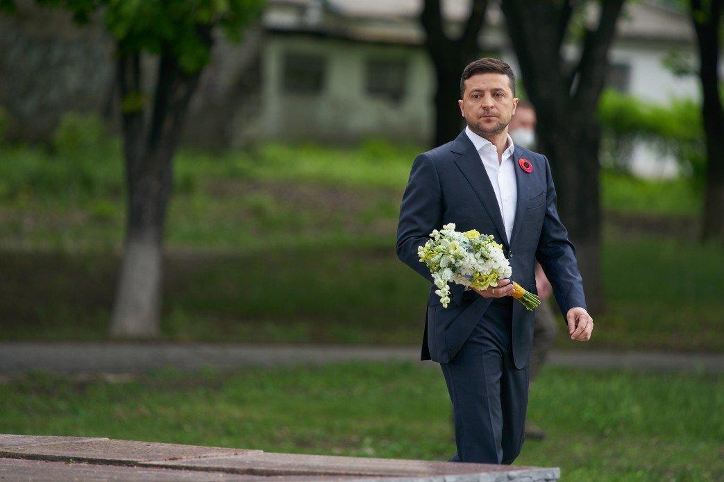 Зеленский посетил границу с Россией в Луганской области, - ФОТО, фото-1