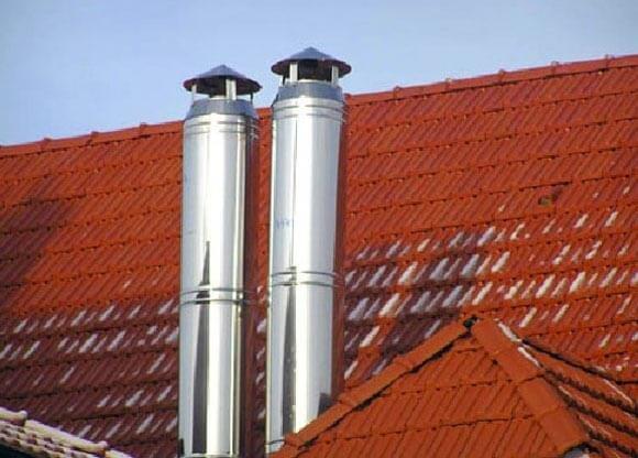 Какие детали входят в состав дымоходов из нержавеющей стали?, фото-1