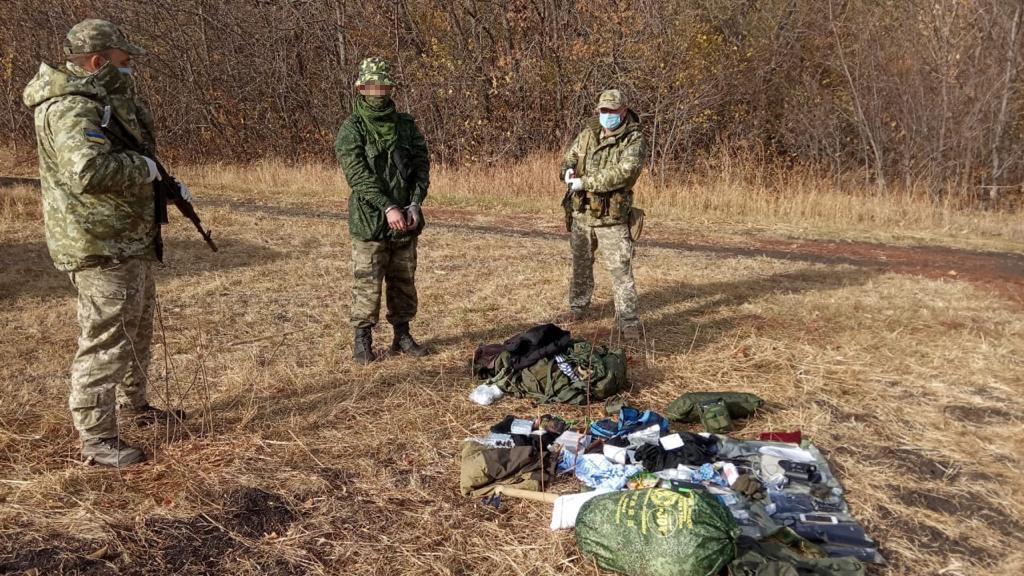 В Луганской области задержали россиянина, который пересек границу, чтобы попросить политического убежища, - ФОТО, фото-1
