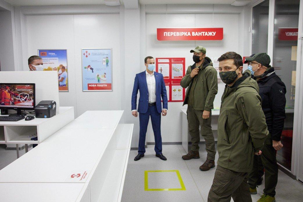 Зеленский осмотрел новый КПВВ «Счастье», который начнет работу 10 ноября, - ФОТО, фото-3