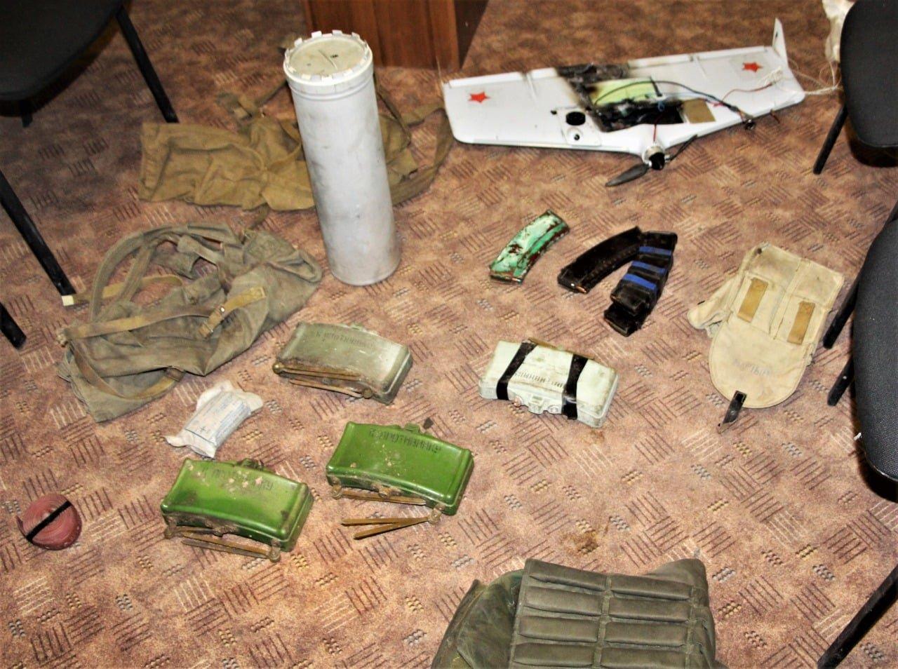 На Донбассе ВСУ сорвали попытку российских диверсантов провести минирование позиций наших войск и сбили дрон, - ФОТО, фото-1