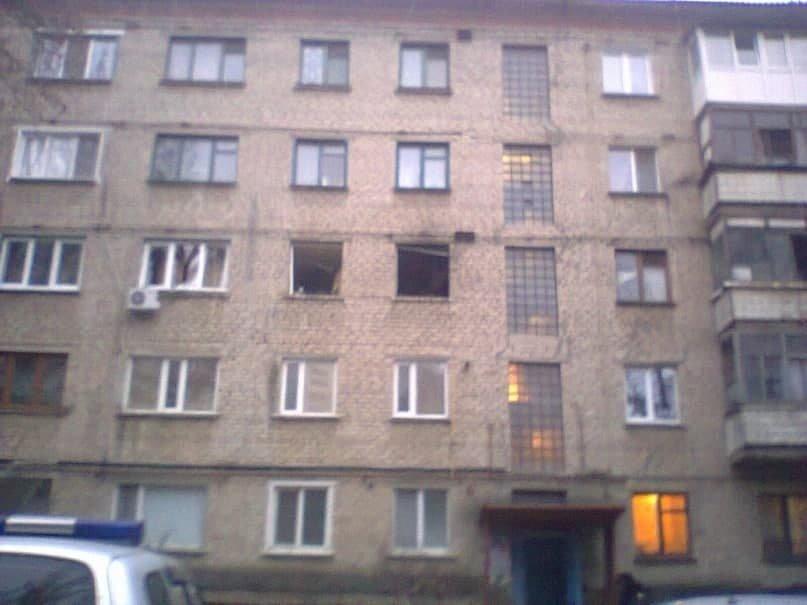 В Луганске произошел взрыв в доме, где живет один из главарей «ЛНР», - ФОТО, фото-1