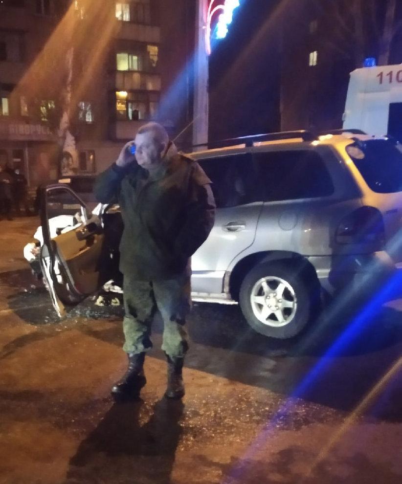 В Луганске пьяный оккупант выехал на встречную и устроил ДТП, - ФОТО, фото-1