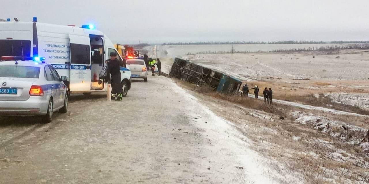 Новые подробности ДТП в России автобуса «Москва-Донецк»: один из пострадавших в тяжелом состоянии, фото-1