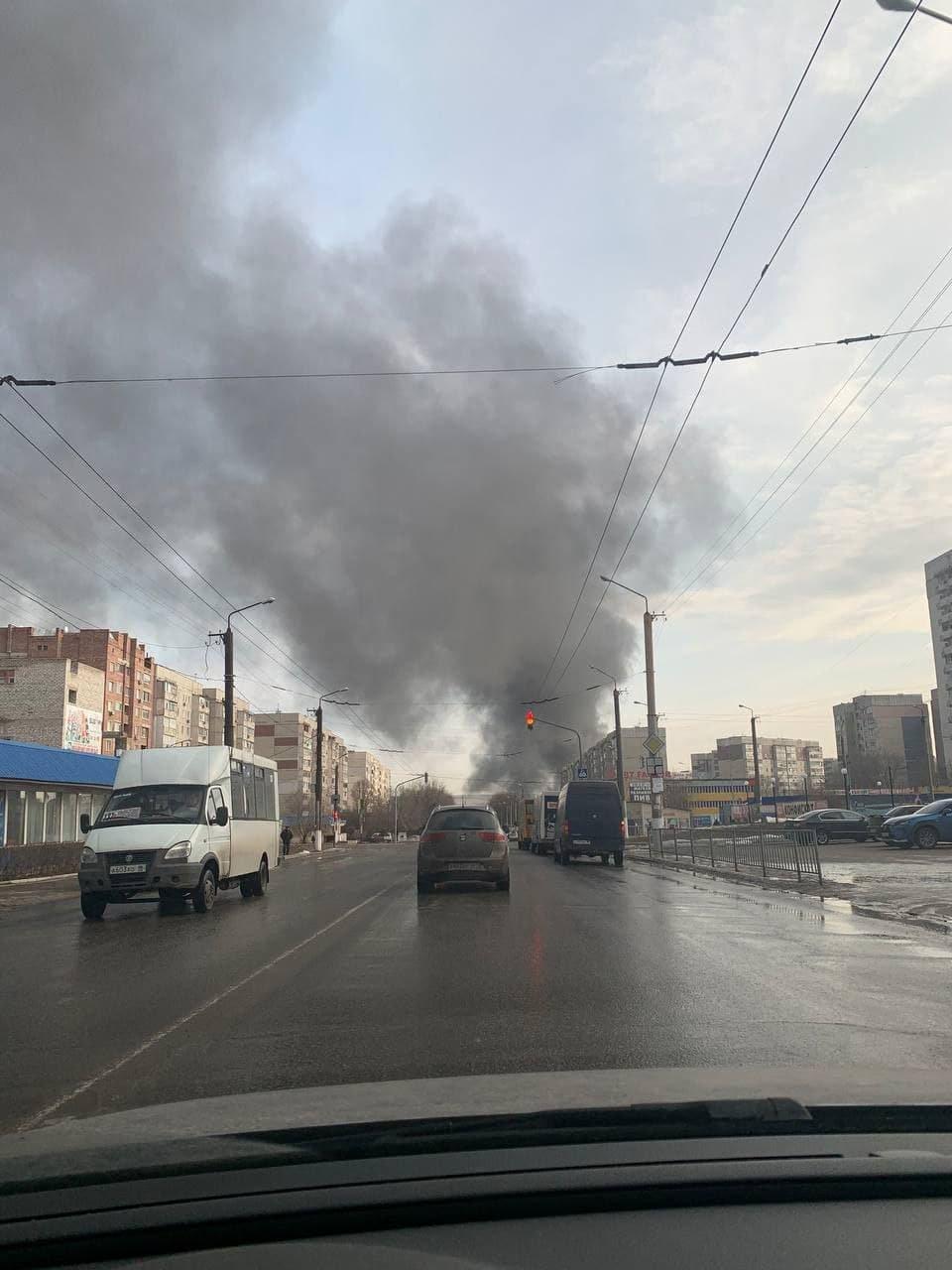 В Луганске горит склад горюче-смазочных материалов, - ФОТО, фото-5