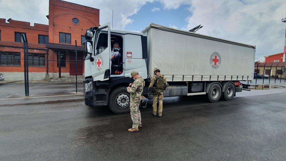 Красный Крест доставил на оккупированные территории 203 тонны гуманитарной помощи, - Фото, фото-2