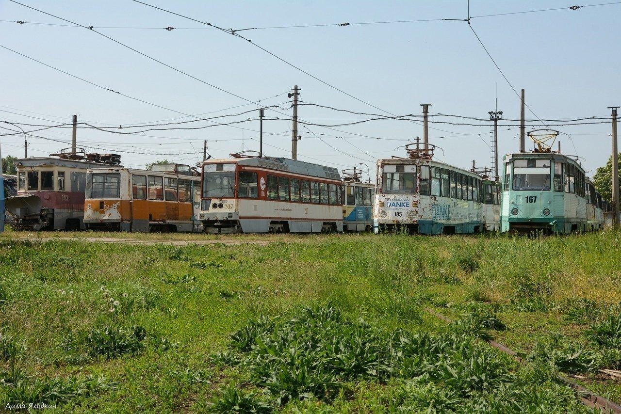 В Луганске трамваи превращаются в металлолом, - ФОТОФАКТ, фото-1