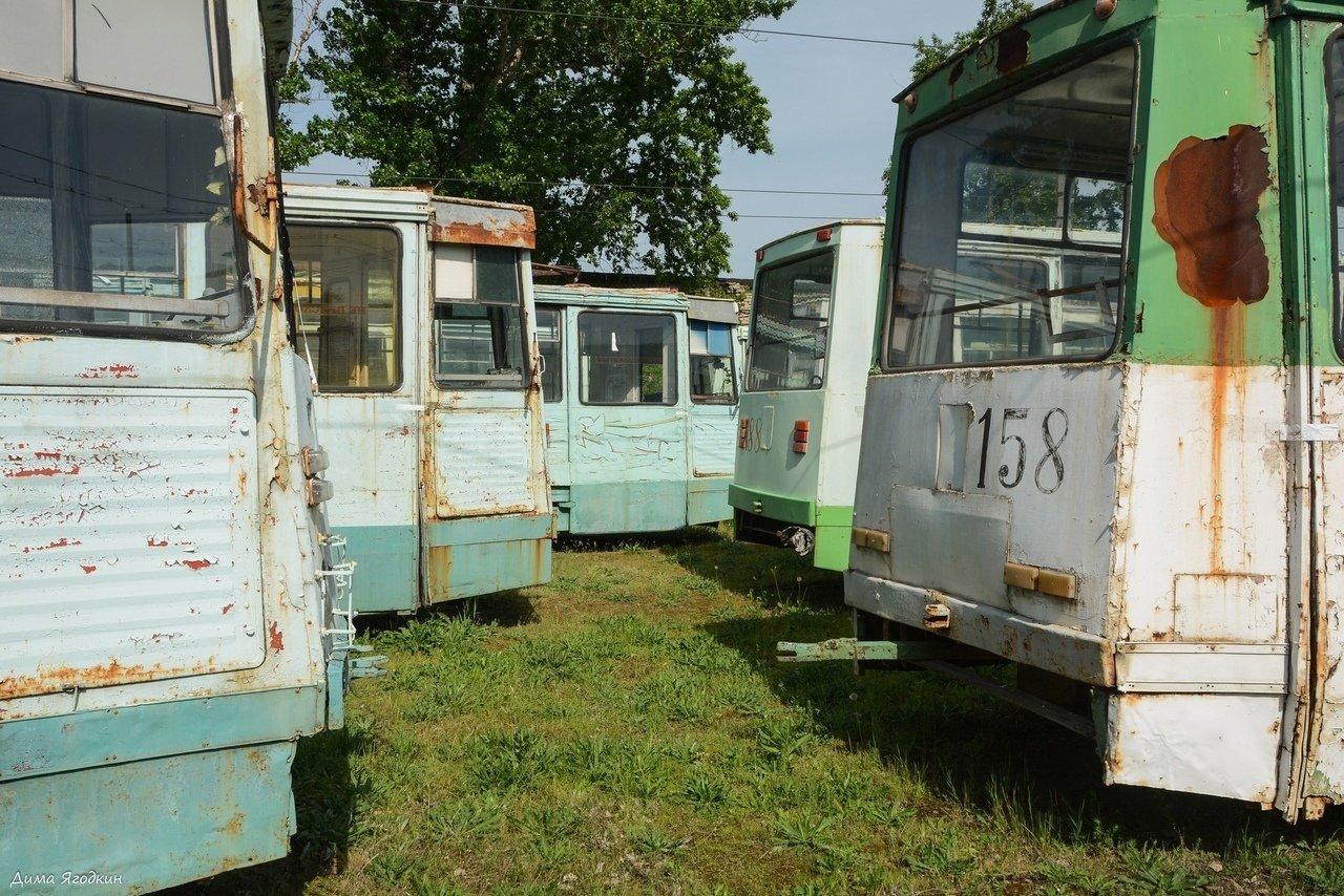 В Луганске трамваи превращаются в металлолом, - ФОТОФАКТ, фото-2