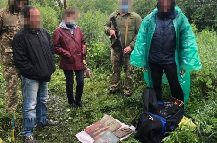 В Луганской области контрабандист пытался доставить иконы в Россию, - ФОТО, фото-4