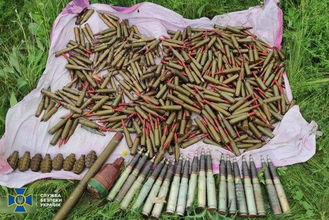 Три тайника с боеприпасами российских террористов выявили на Луганщине, - ФОТО, фото-2