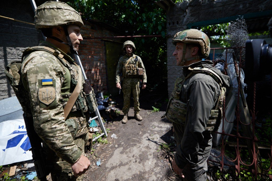 Зеленский посетил передовую на Донбассе, - ФОТО, фото-1