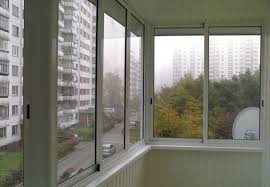 Услуги по остеклению балконов и лоджий от    фабрики  окон «Геоком Рест» (фото)